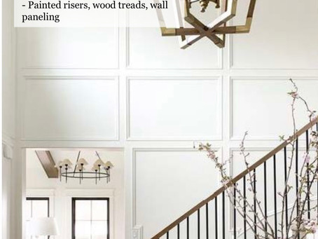 Entry and Stairwell Paneling