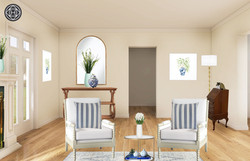 Grandmillenial Style Living Room