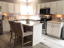Country Chic Kitchen Cabinet Makeover Ar