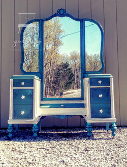 Antique French Style Vanity