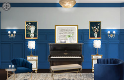 Hollywood Hills Glam Piano Lounge