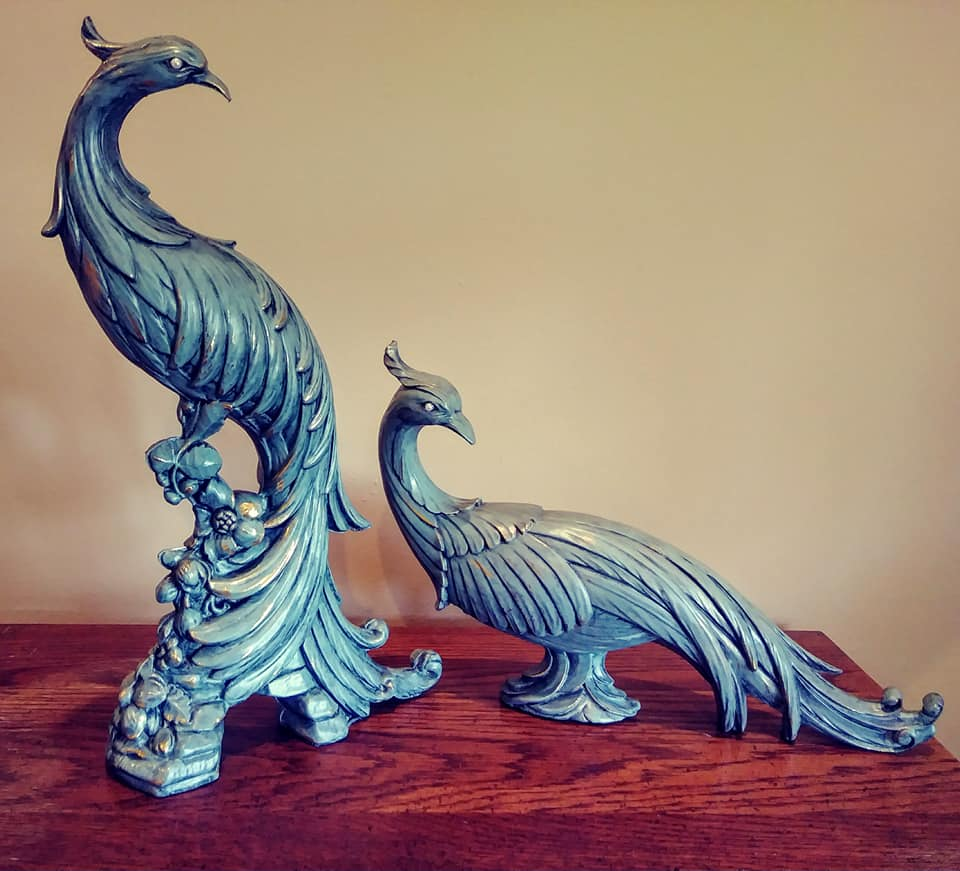 Patina Peacocks
