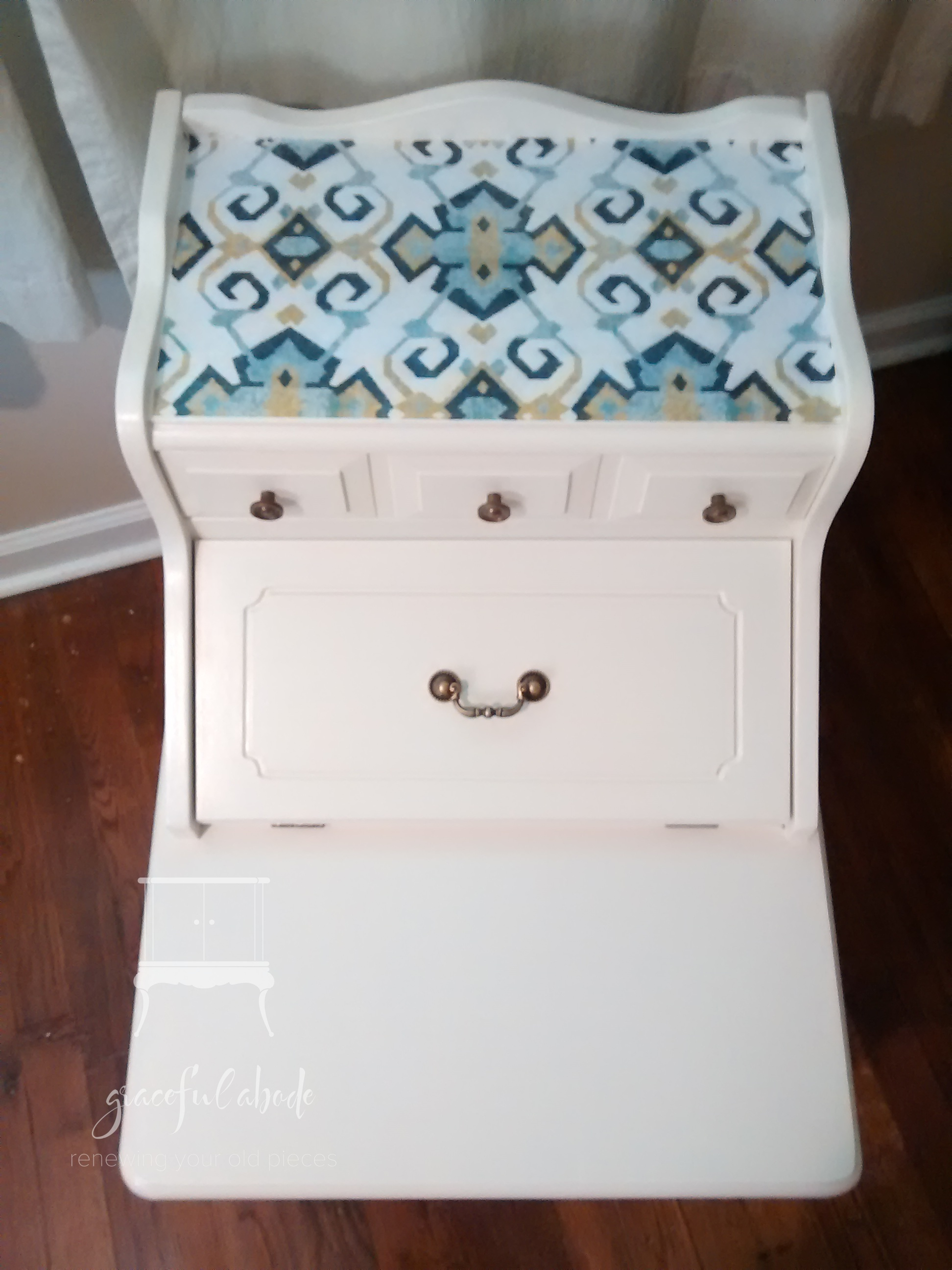 1970's Two Tier Nightstands