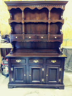 Woosters of Bennington Solid Oak China C