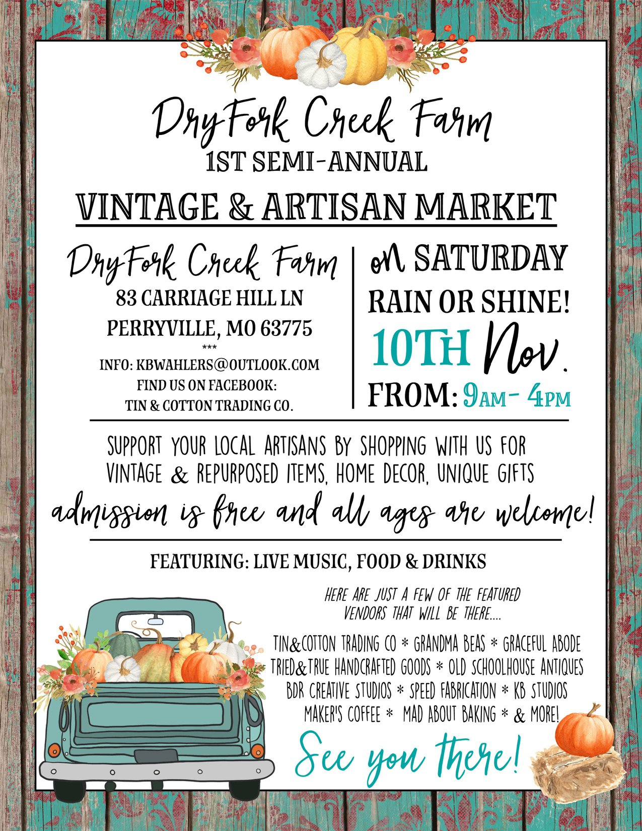 vintage and artisan market