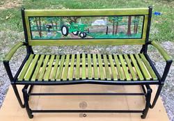 Restored John Deere Bench