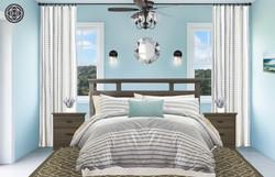 Coastal Farmhouse Master Guest Suite