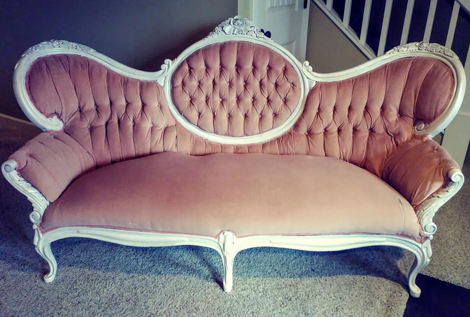 Victorian Sofa Wood Updated