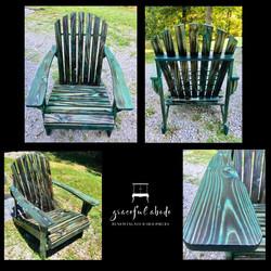 Custom torch/dye Adirondacks for sale