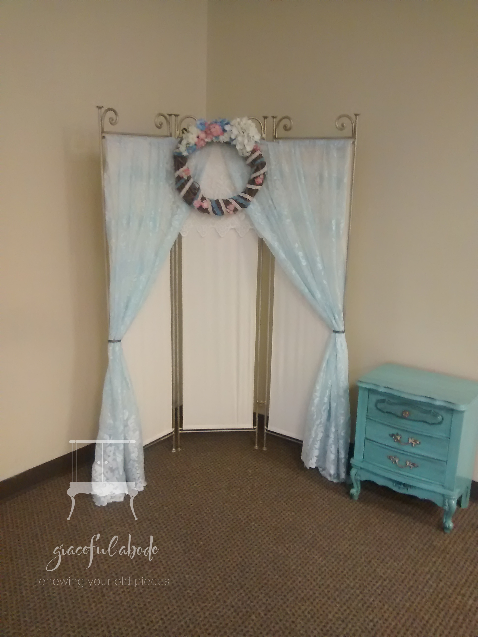 Custom Elegant Altar Backdrop