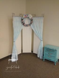 Custom Elegant Altar Backdrop