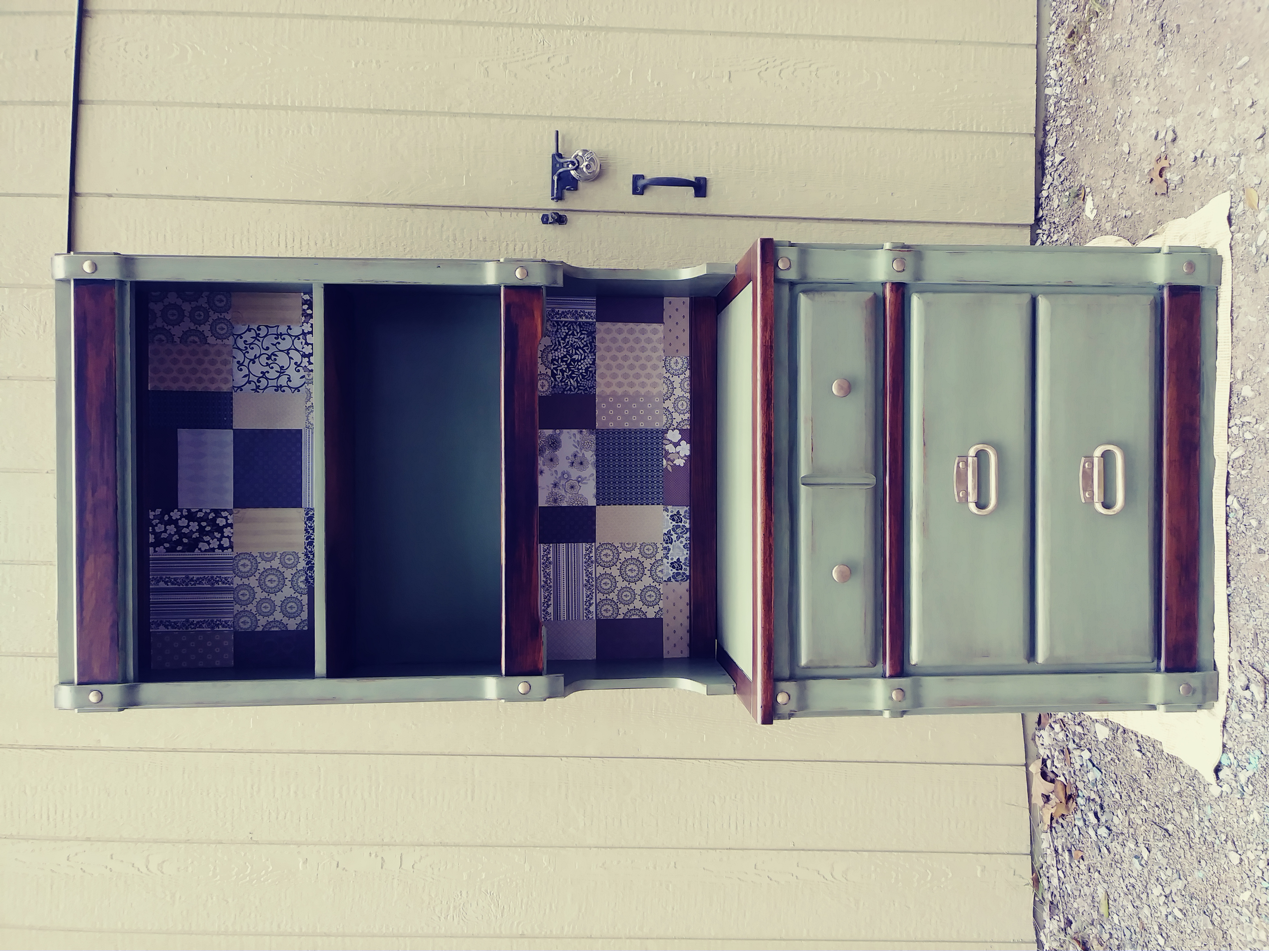 Vintage Farmhouse Hutch