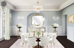 Hollywood Glam Dining Room