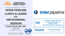 PES | Inter Pipeline Lunch & Learn and Networking Session