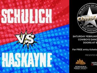 PES|Cowboys Fundraiser: Schulich vs. Haskayne