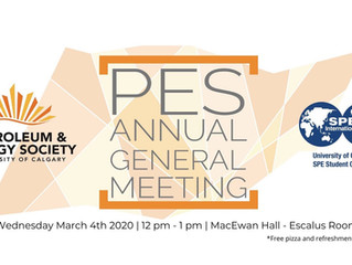 PES | Annual General Meeting 2020