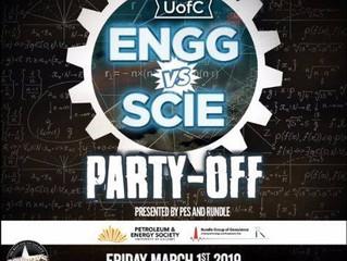 ENGG vs SCIENCE Party at Cowboys
