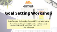 PES | Goal Setting Workshop (CANCELLED)
