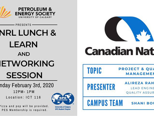 PES | CNRL Lunch and Learn & Networking Session