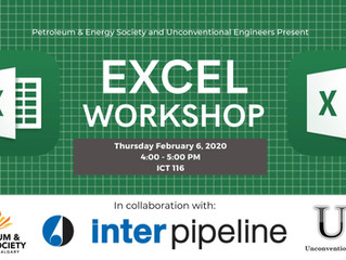 PES | PES and UE Excel Workshop