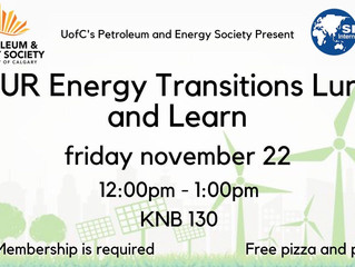 CSUR | Energy Transitions Lunch & Learn