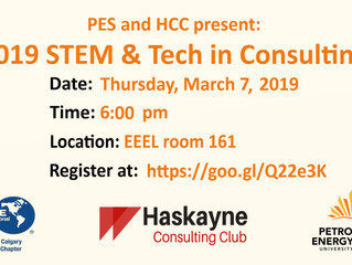 PES & HCC | 2019 STEM and Tech in Consulting with Accenture