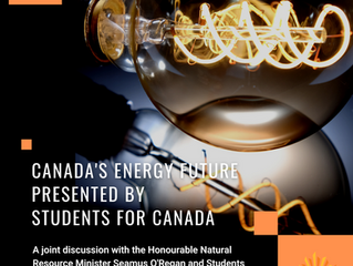 SFC | Canada's Energy Future With The Honourable Natural Resource Minister Seamus O'Regan