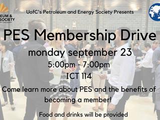 PES | Membership Drive
