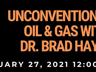PES x CSUR | Unconventional Oil & Gas With Dr. Brad Hayes
