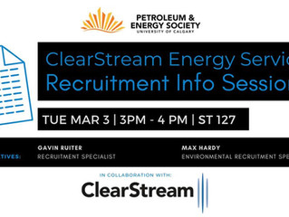 PES | ClearStream Recruitment Info Session