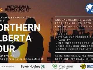 PES | Northern Alberta Tour