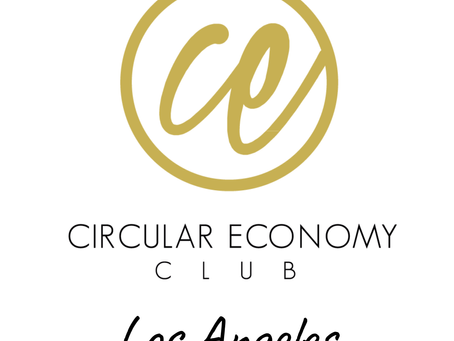 We've been selected by Circular Economy Club (CEC) to be the Los Angeles Chapter Organizer!