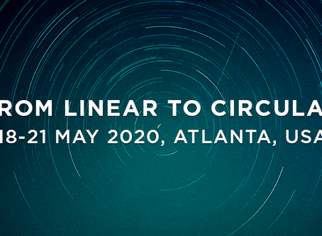 "We're an Ellen MacArthur Foundation's ""From Linear to Circular"" Programme Participant"
