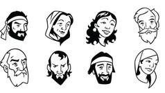 Bible Character Portraits