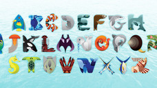 Alphabet Marine Creatures