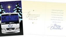 ICU Mobile Christmas Card illustration