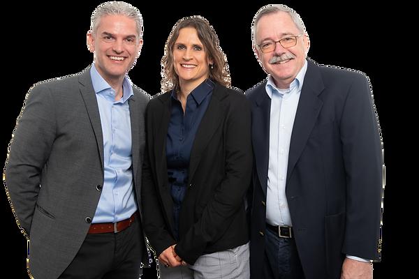 Partner Marco Kreis, Roberta Kreis, Robert Trachsler