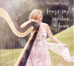 CD Case: Monika Vasey, Harpist