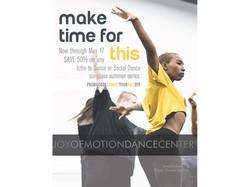 Advertisement: Joy of Motion Dance