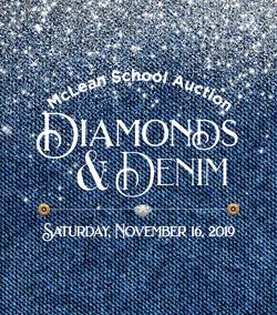 McLean School Auction Identity 2019