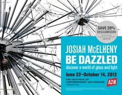 ICA Boston: Exhibition Advertisement 2011–12