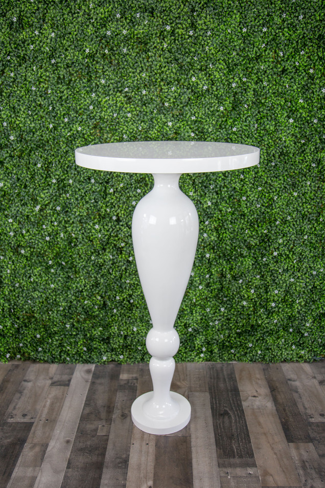 Gloss White High Top Table