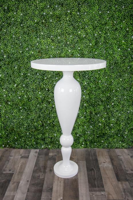 Gloss White High Top Table