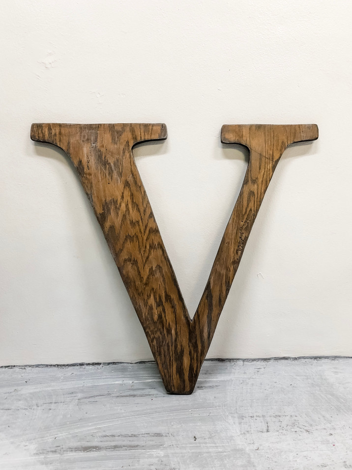 Wood Wall Letter