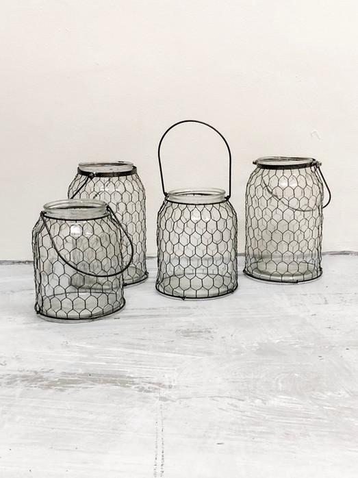 Vintage Wire Lanterns