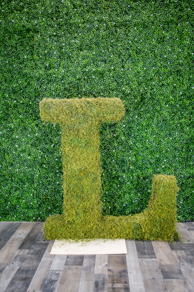 "Moss Covered ""L"""