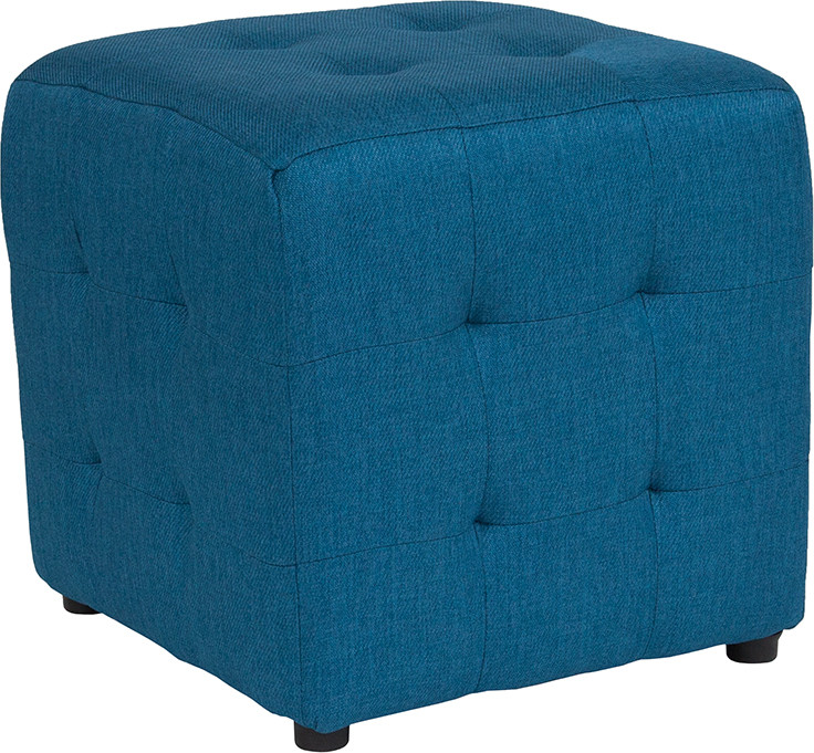 Lagoon Tufted Pouf