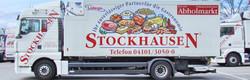 Slider Stockhausen LKW visitenkarte