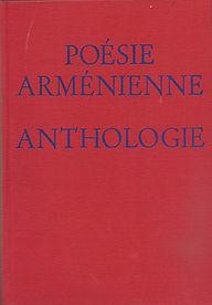 livre anthologie poésie arménienne