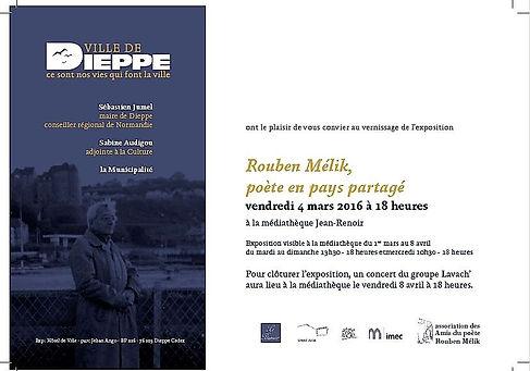 ville de Dieppe inauguration de l'exposition